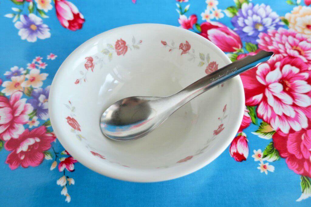 台湾 花柄食器