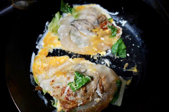 台湾牡蠣オムレツのレシピ