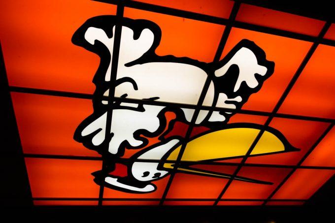 丹丹漢堡のペリカンのキャラクター