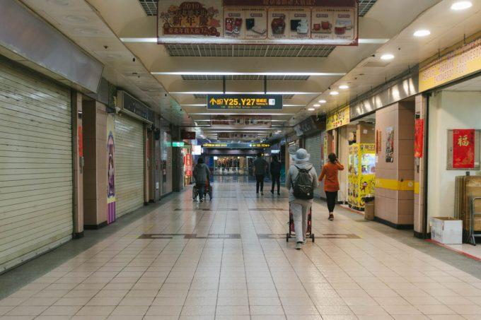 台北駅地下街