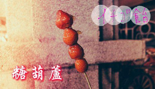 【トマト飴】「寧夏夜市 糖葫蘆」かわいいだけじゃなくて本当に美味しい【イチゴ飴】