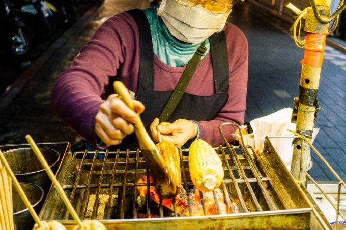 西門町 焼きトウモロコシ