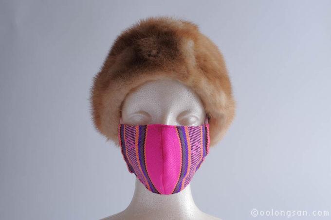 台湾原住民柄マスク