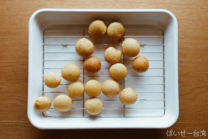 地瓜球レシピ