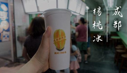 台北「成都楊桃冰」しょっぱすっぱいスターフルーツジュースにビックリ!