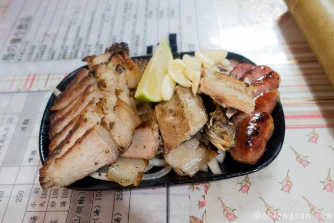 珊媽の石板炭燒烤肉舖
