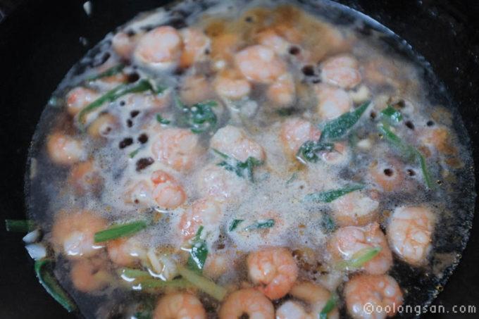 蝦仁飯レシピ