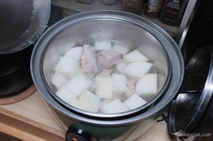 大根スペアリブスープレシピ