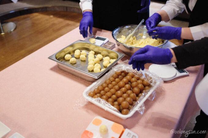 パイナップルケーキ手作り体験