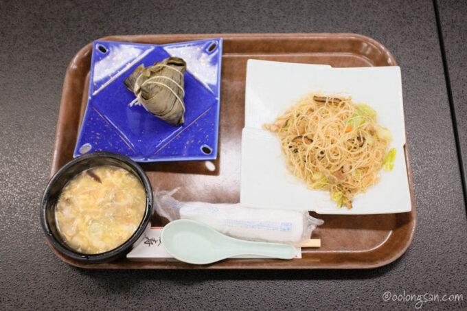 グランドホテル愛寿にて台湾名物ランチ