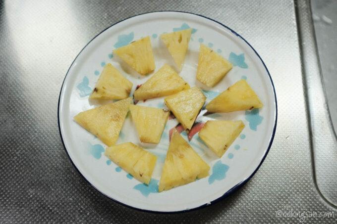 台湾パイナップルエビマヨレシピ