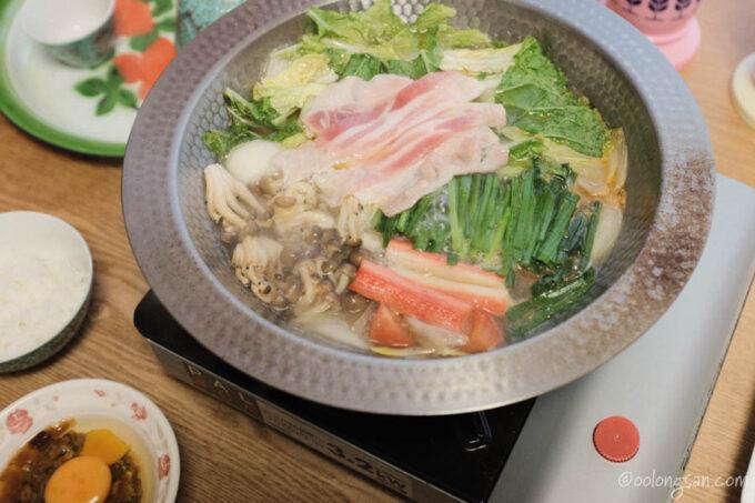 台湾石頭火鍋レシピ